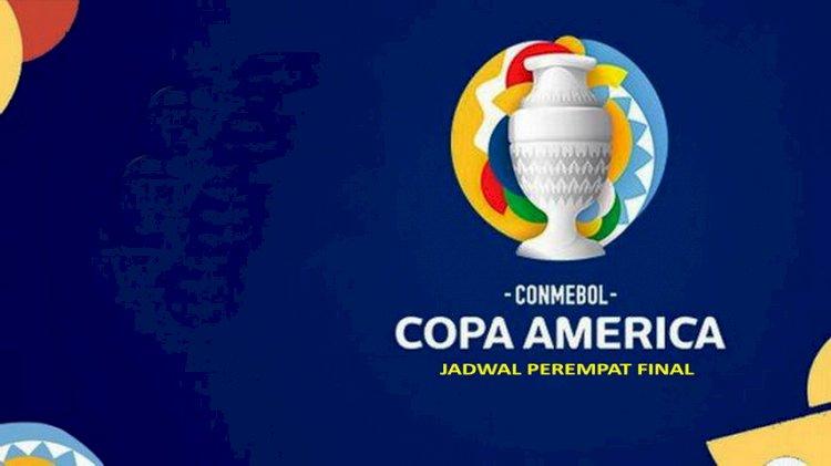 Jadwal Perempat Final Copa America 2021
