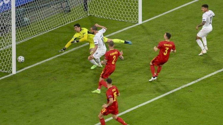 Menang 2-1 atas Belgia, Italia Jumpa Spanyol di Semi Final