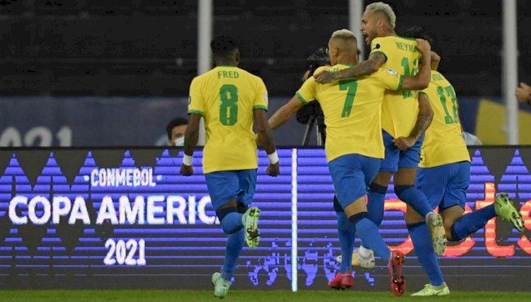 Hasil Copa America: Brasil Ditantang Peru di Semi Final