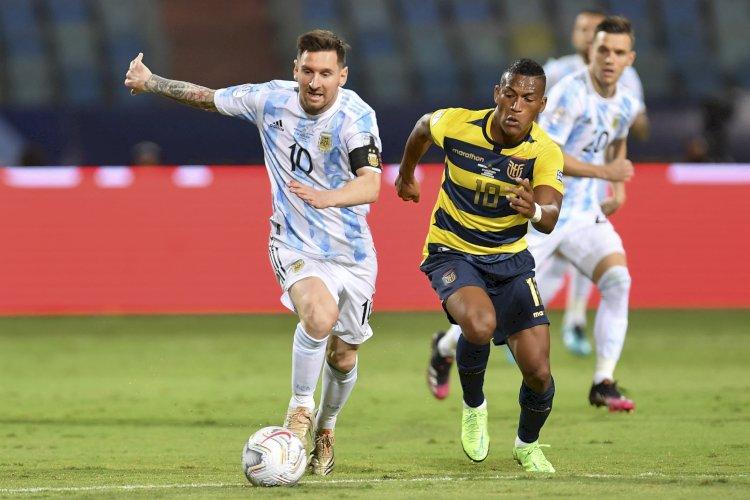 Lionel Messi Pimpin Argentina ke Semifinal Usai Kalahkan Ekuador 3-0