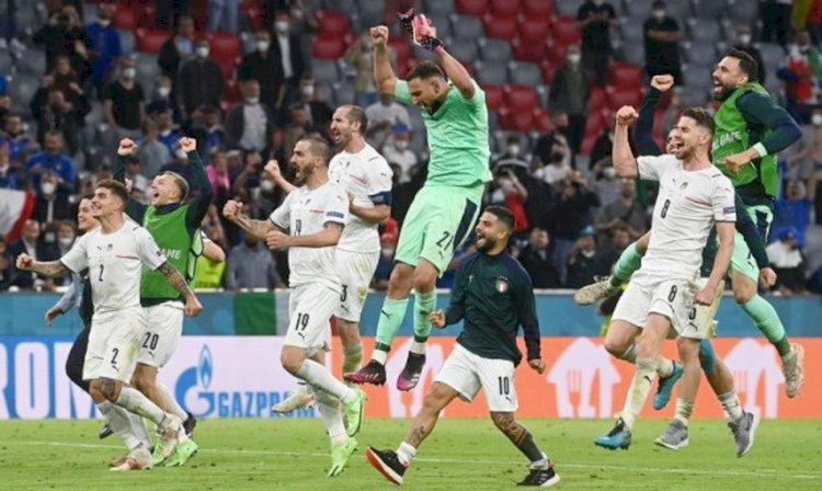 Jadwal Semifinal Euro 2020: Italia Vs Spanyol, Inggris Vs Denmark