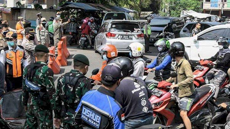 Denda Pelanggar Saat PPKM Darurat di Bandung Capai Rp103 Juta