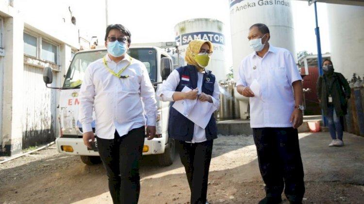 Pemkot Bandung Pastikan Oksigen Terdistribusikan dengan Baik ke RS
