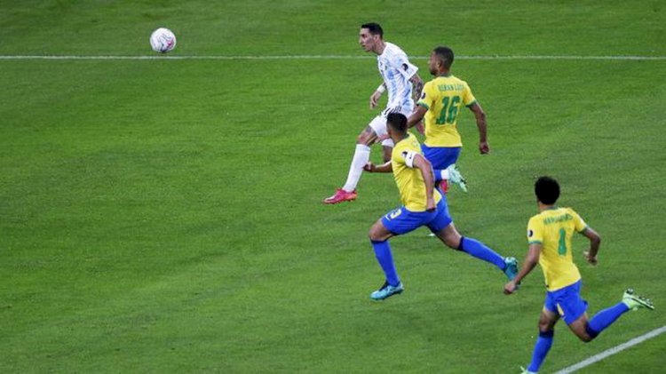Gol Tunggal Di Maria Antar Argentina Raih Juara Copa America 2021