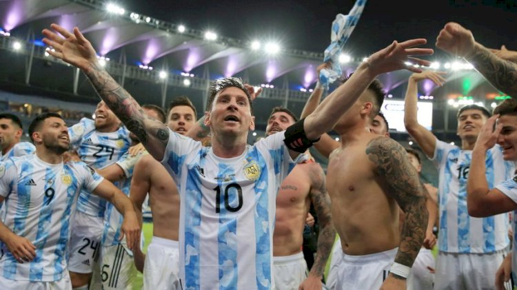 Juara Copa America 2021, Penantian Panjang Messi untuk Gelar Internasional