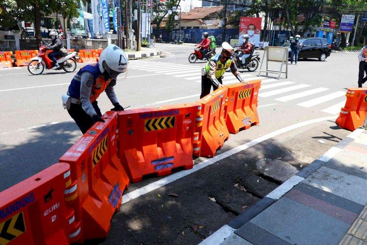 Mobilitas Masih Tinggi, Pemkot Bandung Bakal Evaluasi Kebijakan Buka Tutup Jalan