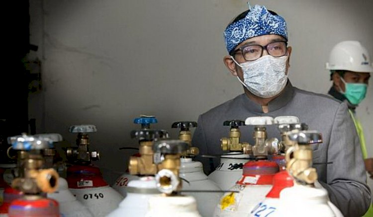 Pemprov Jabar Distribusikan 700 Tabung Oksigen ke Wilayah Ciayumajakuning