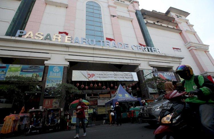 Dukung PPKM Darurat, Himpunan Pedagang Pasar Baru Bandung Surati Jokowi