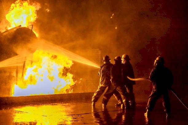 Kantor Badan POM Kebakaran