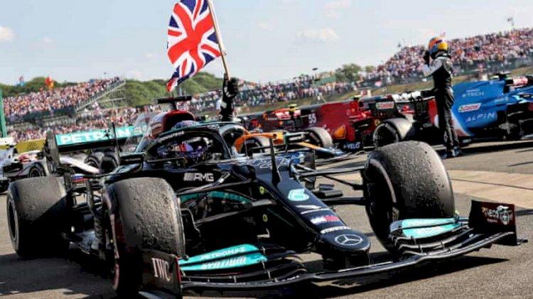 Hasil F1 GP Inggris: Hamilton Menang, Verstappen Naas Crash