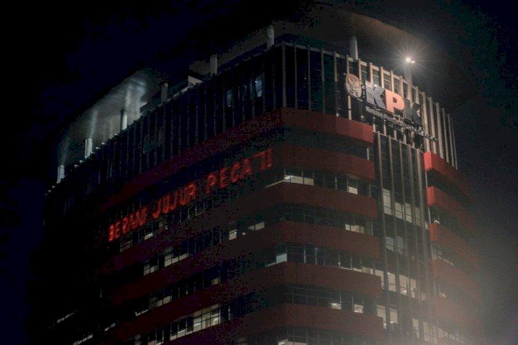 KPK Lapor ke Polisi Soal Gerakan #BersihkanIndonesia, Gedung Dilaser 'Berani Jujur Pecat'