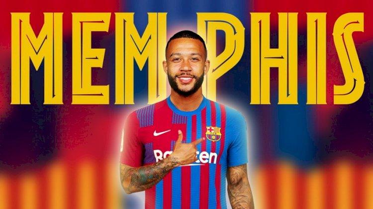 Memphis Depay Targetkan Raih Banyak Gelar Bersama Barcelona