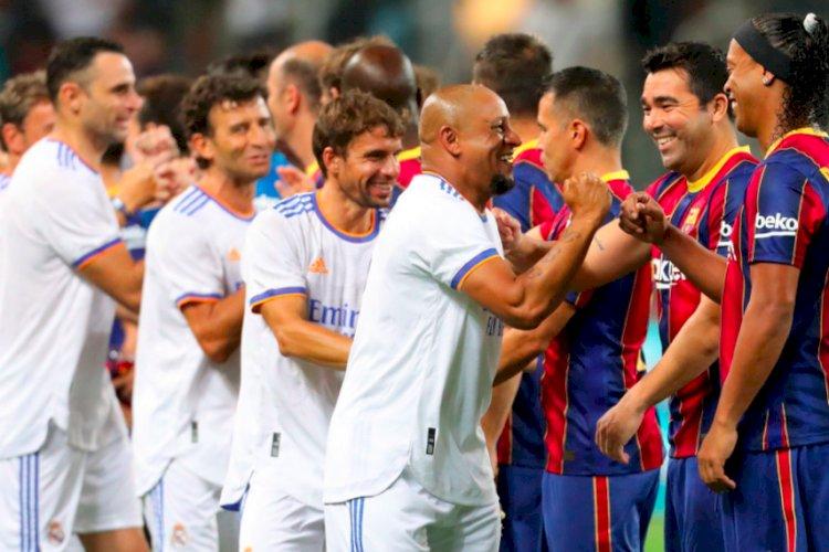 El Clasico Legends: Madrid Kalahkan Barcelona 3-2 di Tel Aviv