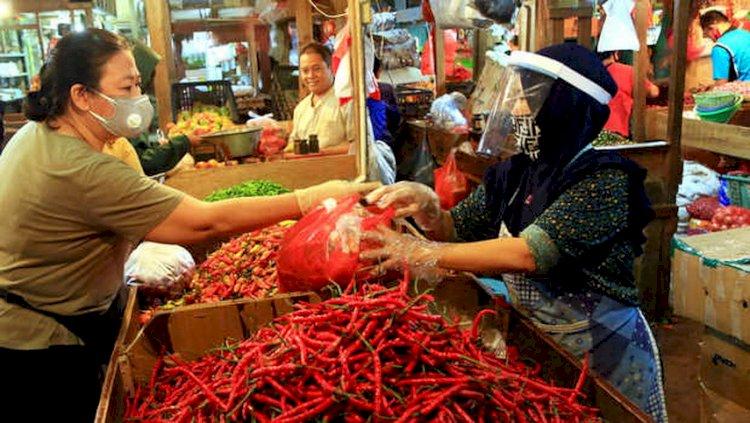 Agar tak Ditutup, Pedagang Pasar di Bandung Diminta Disiplin Prokes