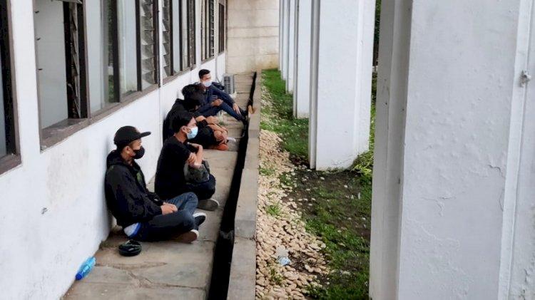 Ratusan Pemuda Diamankan Polisi Pasca Demo Rusuh, 5 Orang Bawa Bom Molotov