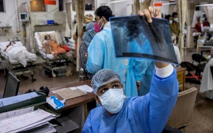 Lonjakan Kasus Covid-19 di India Belum Usai, Kini Lebih dari 45 Ribu Terserang Kasus Jamur Hitam