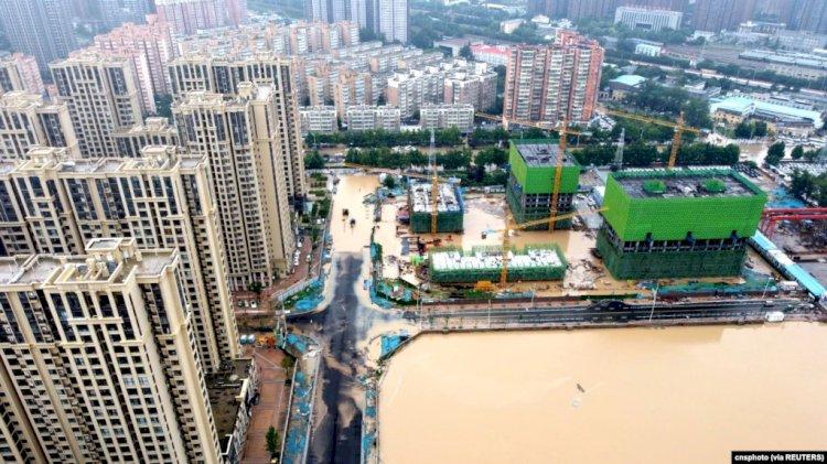 Banjir Besar di China Tewaskan 25 Orang