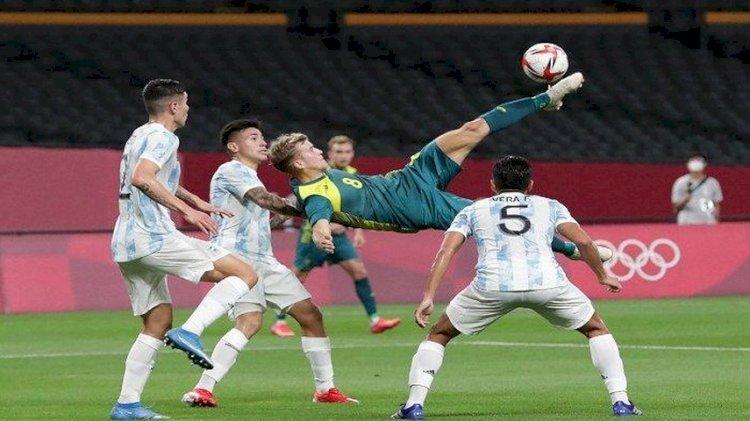 Sepakbola Olimpiade: Argentina dan Prancis Telan Kekalahan