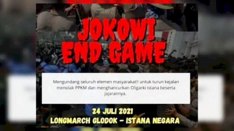 Wagub DKI Minta Masyarakat tak Gelar Demo 'Jokowi End Game'