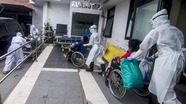 Kasus Aktif Covid-19 di Bandung Lampaui Angka 8 Ribu