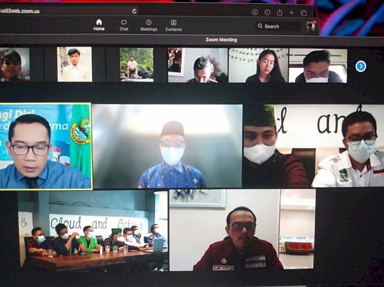 Mahasiswa Sampaikan Kritik, Ridwan Kamil Tak Masalah dan Ajak Kolaborasi