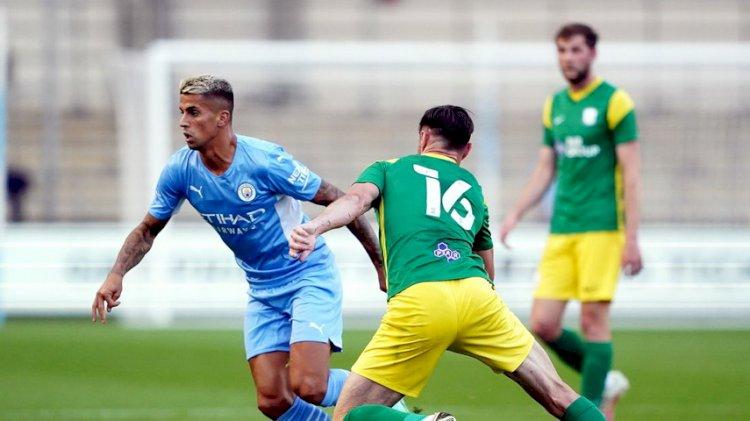 Laga Pramusim: Man City Menang 2-0 atas Preston North End