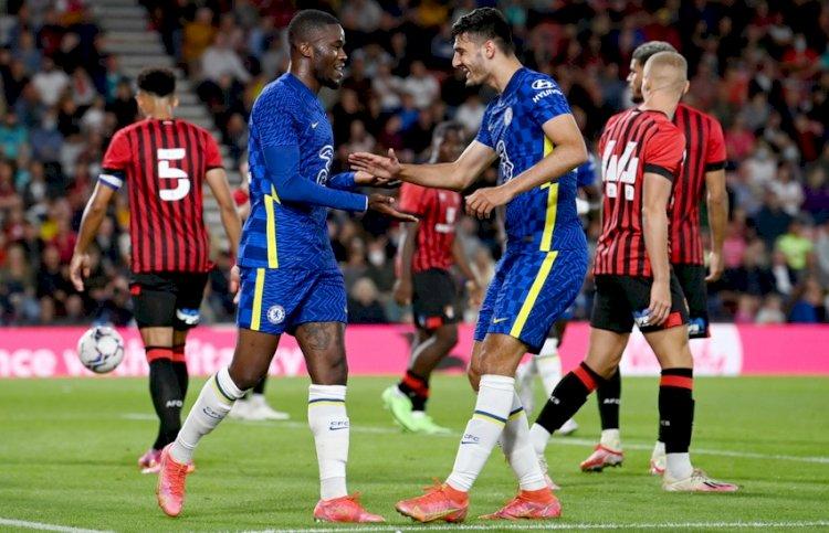Meski Sempat Tertinggal, Chelsea Berhasil Kalahkan Bournemouth 2-1