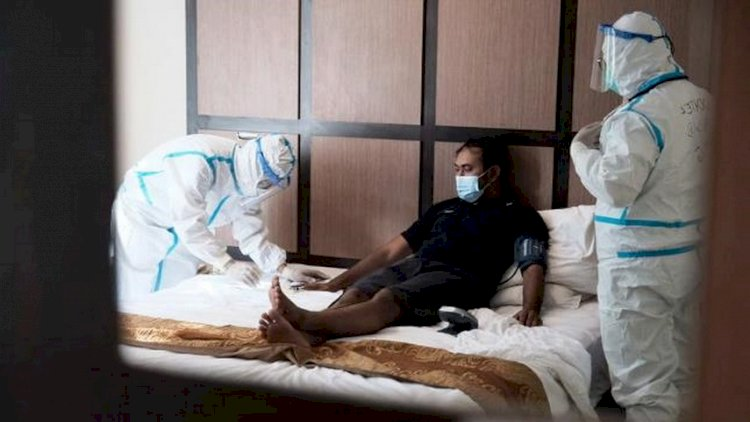 Pembiayaan Isoman Anggota DPR di Hotel dari Anggaran Kunker LN