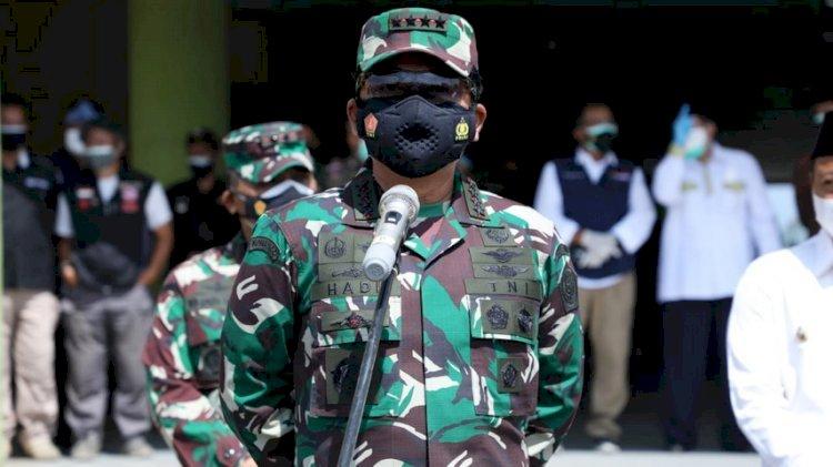 Panglima TNI Perintahkan KSAU Copot Jabatan Danlanud JA Dimara