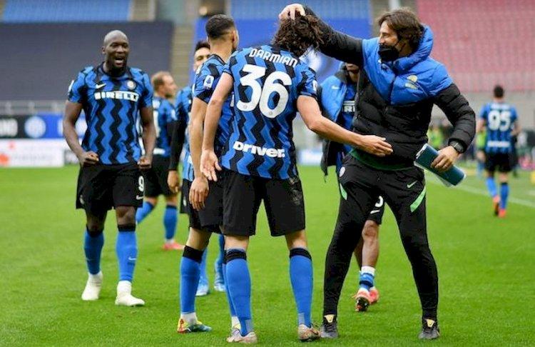 Inter Milan Hajar Crotone 6-0