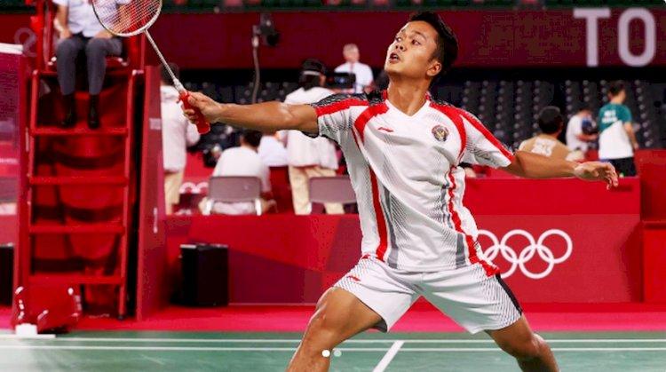 Anthony Ginting Melaju Ke Perempat Final Usai Kalahkan Tunggal Jepang