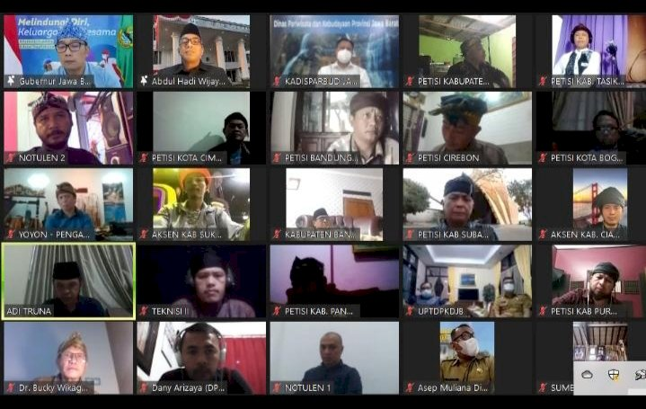 Dialog Virtual Dengan Gubenur Ridwan Kamil Dinilai Para Seniman Sangat Mengecewakan