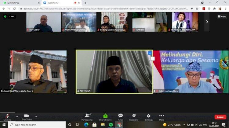 Seniman Kecewa Ridwan Kamil, Abdul Hadi Wijaya : DPRD Jabar Akan Fasilitasi Dialog Lanjutan
