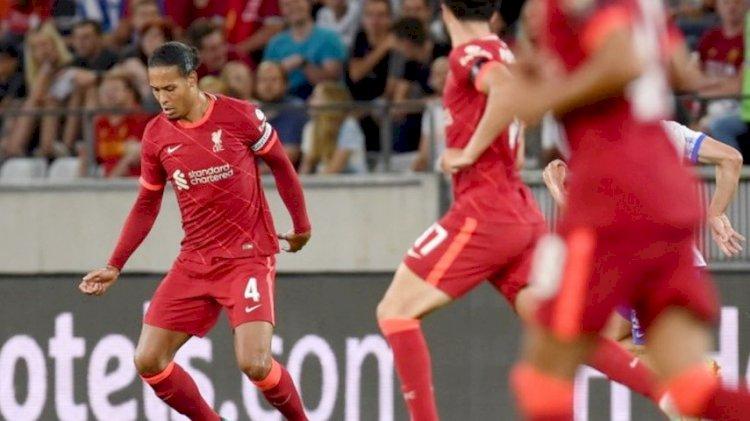 Meski Van Dijk Dimainkan, Liverpool Menyerah 3-4 dari Hertha Berlin
