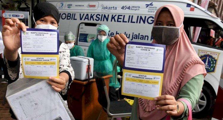 Kegiatan di Jakarta yang Wajib Menunjukan Bukti Vaksin