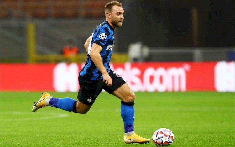 Christian Eriksen Bisa Absen Bela Inter Milan Enam Bulan