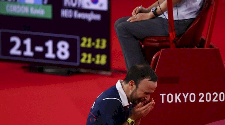 Ada Andil Pelatih Indonesia di Balik Kesuksesan Kevin Cordon Tembus Semifinal Olimpiade