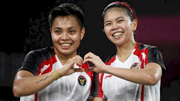 Greysia/Apriyani Hidupkan Peluang Indonesia Raih Emas, Melaju ke Partai Final