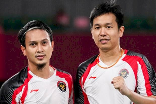 Kalah dari Malaysia, Ahsan/Hendra Gagal Raih Medali Perunggu