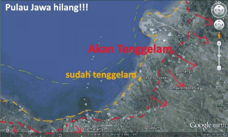 Bukan Jakarta yang Berpotensi Tenggelam, Ini Hasil Riset Lembaga Kebencanaan IA-ITB