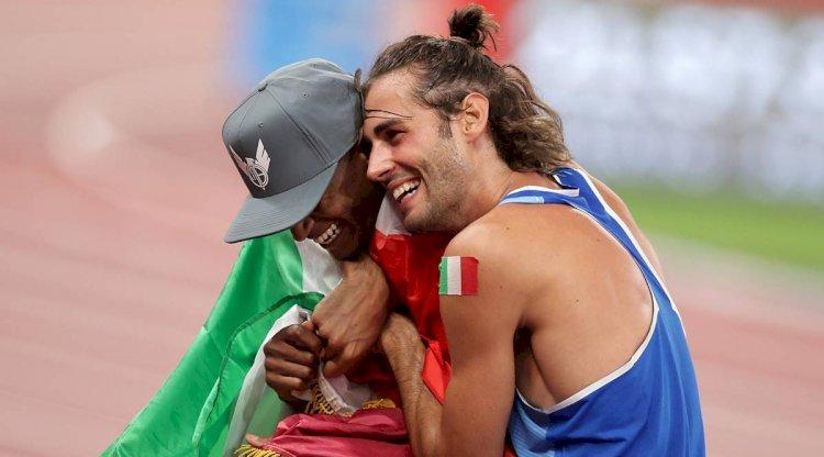 Pertama Kalinya Sejarah Olimpiade, Dua Atlet Berbagi Emas dalam Satu Pertandingan