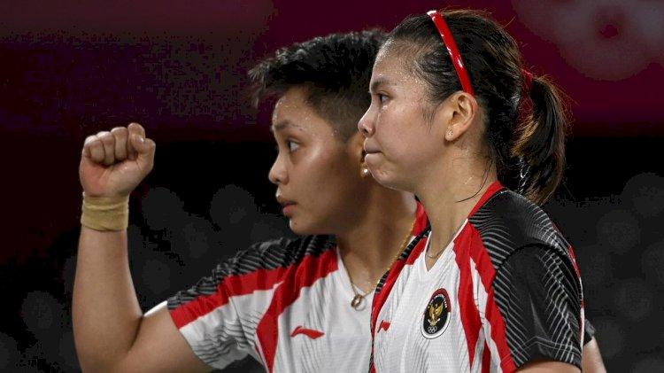 Pasangan Ganda Putri Greysia/Apriyani Rebut Medali Emas Olimpiade Tokyo