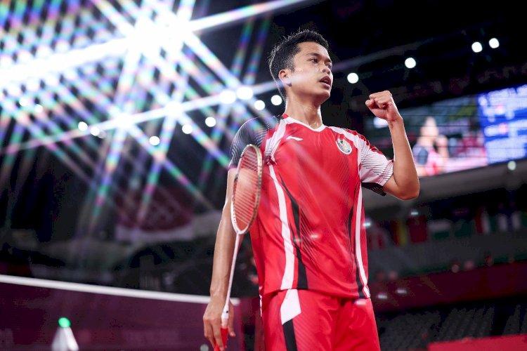 Anthony Ginting Rebut Medali Perunggu di Olimpiade Tokyo 2020