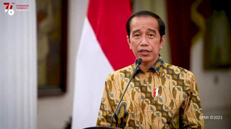 Jokowi Perpanjang PPKM Level 4 hingga 9 Agustus 2021