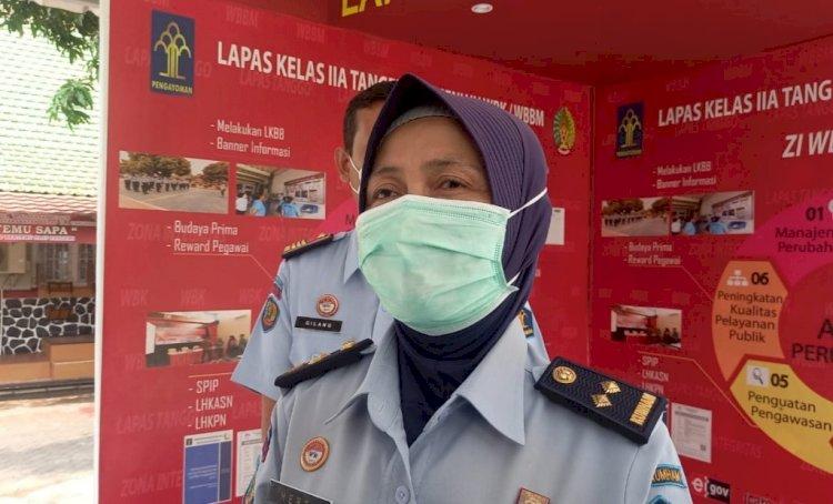 Puluhan Warga Binaan Terpapar Virus Corona, Lapas Wanita Anak Kelas II A Tangerang Lockdown