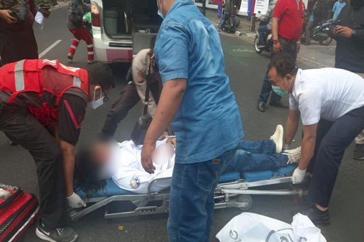 Polisi Selidiki Motif Ketua Harian AKAR Coba Bunuh Diri di Depan Balai Kota Bandung
