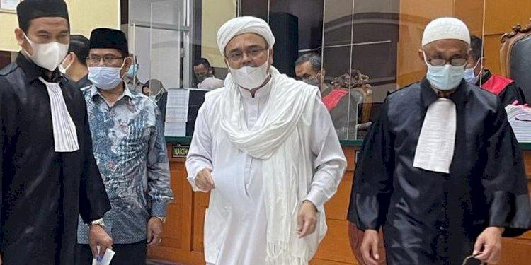 Ini Hasil Putusan Banding Kasus Kerumunan Megamendung Rizieq Shihab