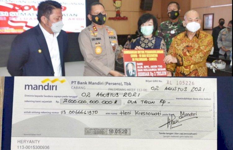 Gaduh Donasi Rp2 T Akidi Tio, Kapolda Sumsel: Karena Ketidakhati-hatian Saya