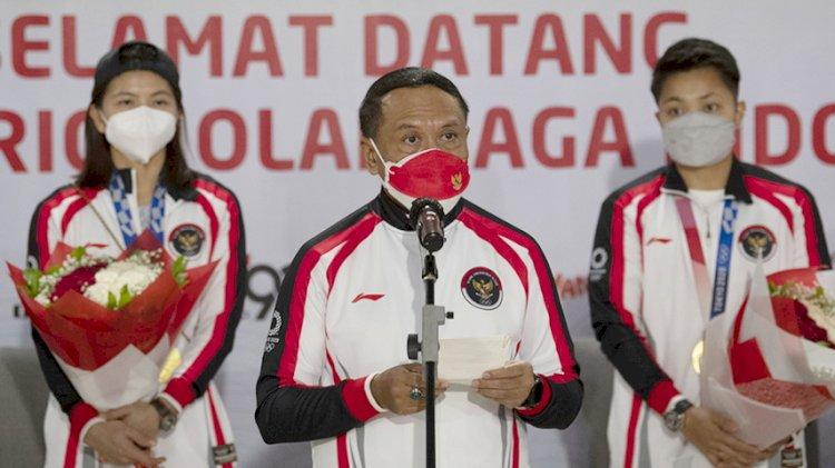 Rombongan Terakhir Indonesia di Olimpiade Tokyo Tiba di Tanah Air