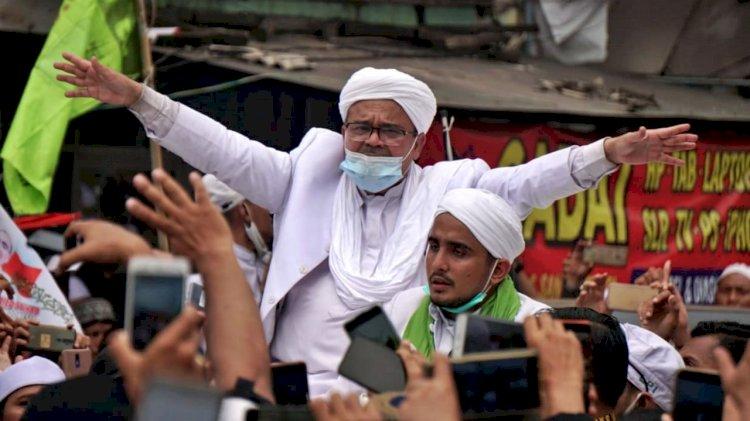 Upaya Banding Kasus Kerumunan di Petamburan Ditolak, Habib Rizieq Tetap Dihukum 8 Bulan Penjara
